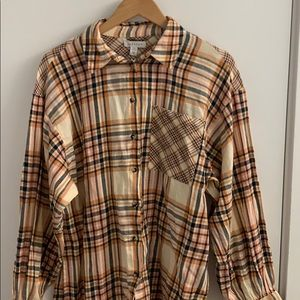 NWT TopShop   flannel